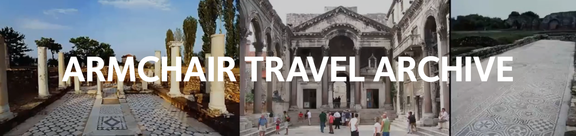 Armchair travel archive header