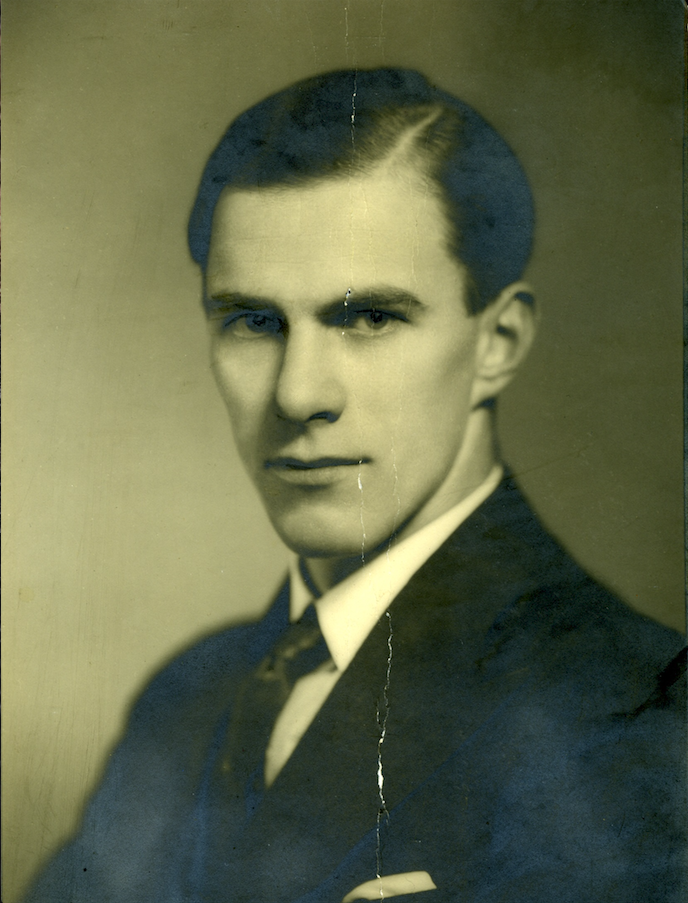 A picture of Bill Frankland from 1934