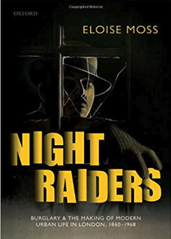 The cover of 'Night Raiders' by Eloise Moss