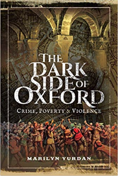 The cover of 'The Dark Side of Oxford' by Marilyn Yurdan