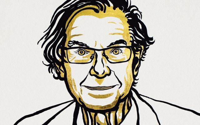 Professor Sir Roger Penrose Nobel sketch