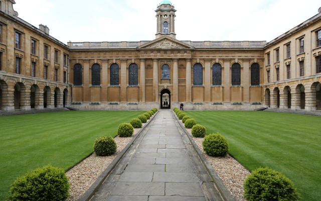 Queens College - Front Quad