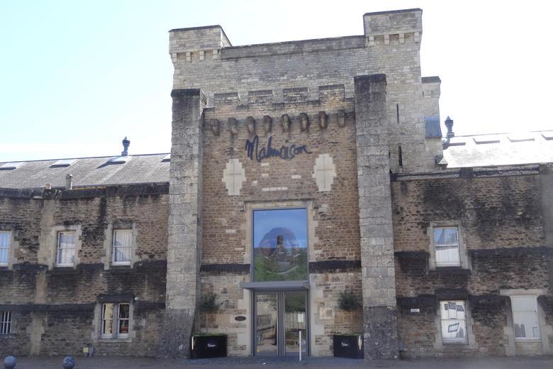 The exterior of Malmaison restaurant in Oxford