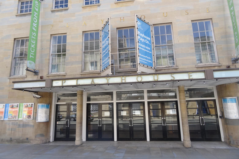 The exterior of Oxford Playhouse on Beaumont Street