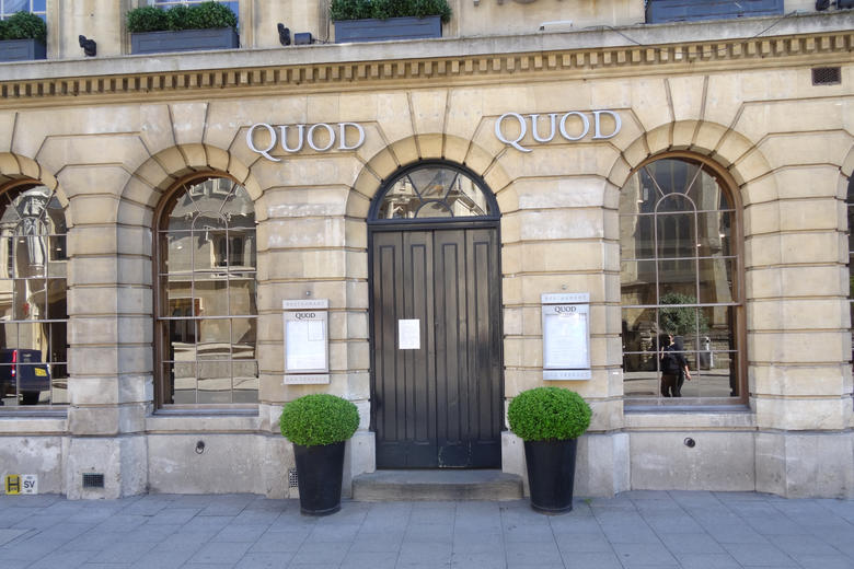 The exterior of the Quod restaurant in Oxford