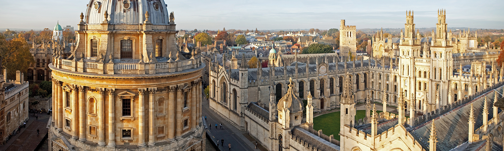 Radcliffe Camera Oxford skyline