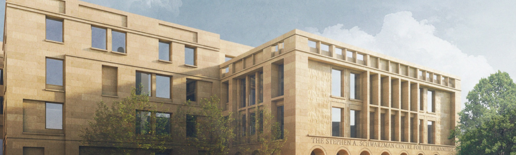 Illustration of new Schwarzman Centre