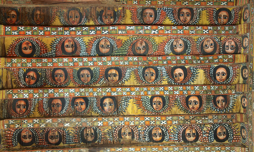 Debre Berhan church murals