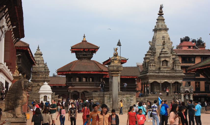 Durbar square of Bhaktapur in Kathmandu, Nepal