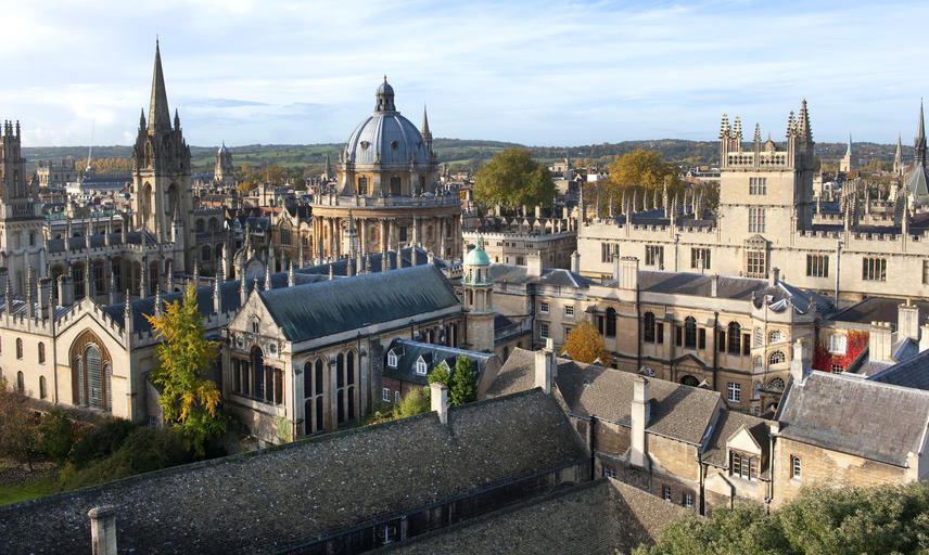 A view across the Oxford skyline - Oxford University images
