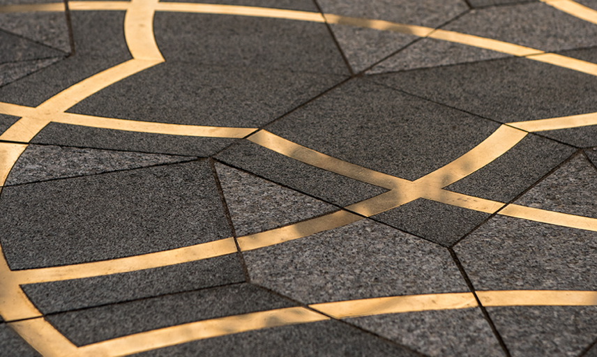Penrose paving at the Maths Institute