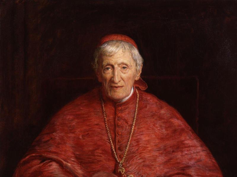 A painting of John H. Newman by Sir John Everett Millais