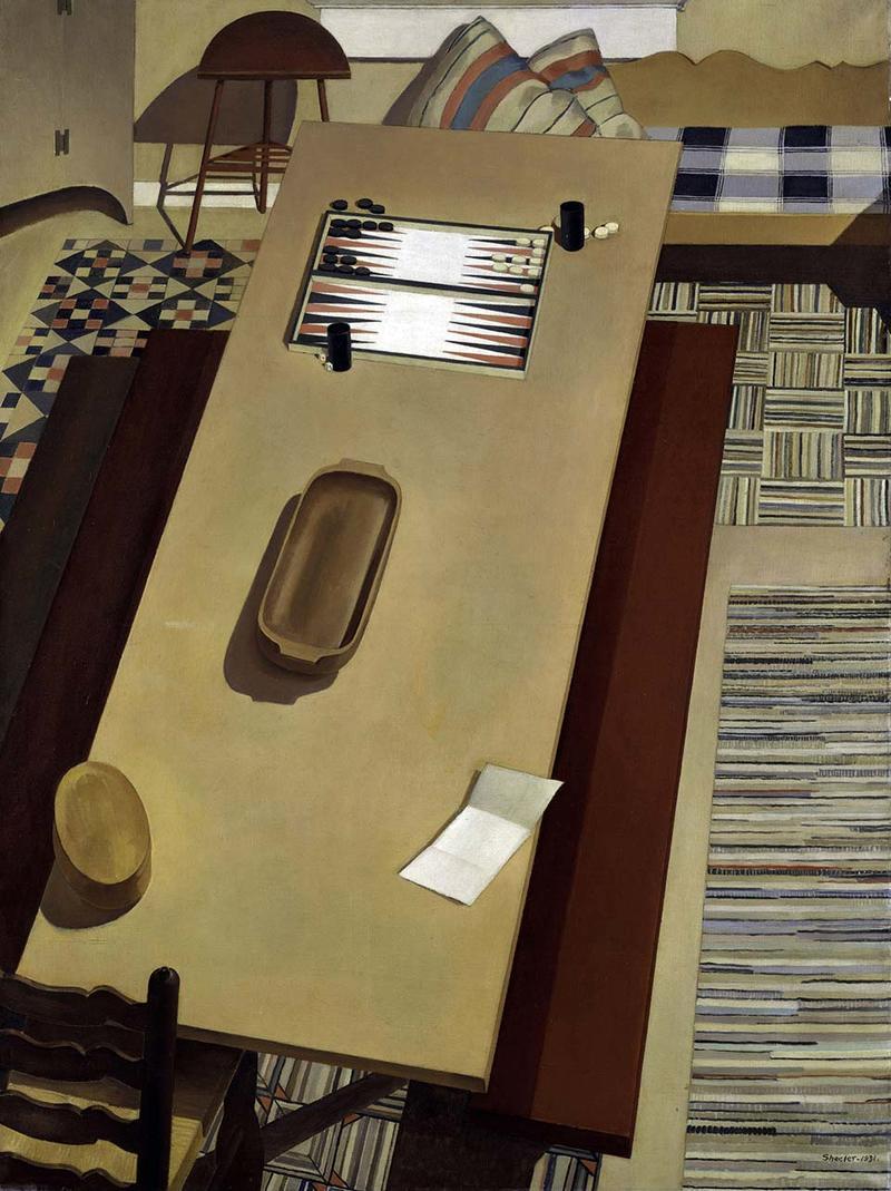 A painting - Charles Sheeler's Americana (1931)