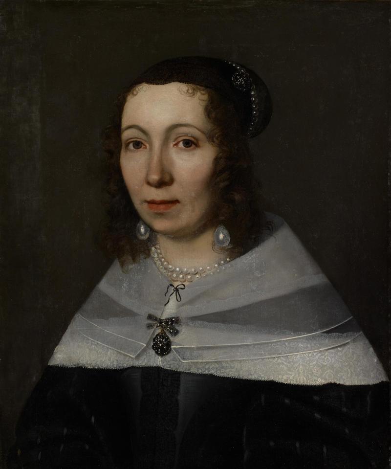 A portrait of Maria Sibylla Merian