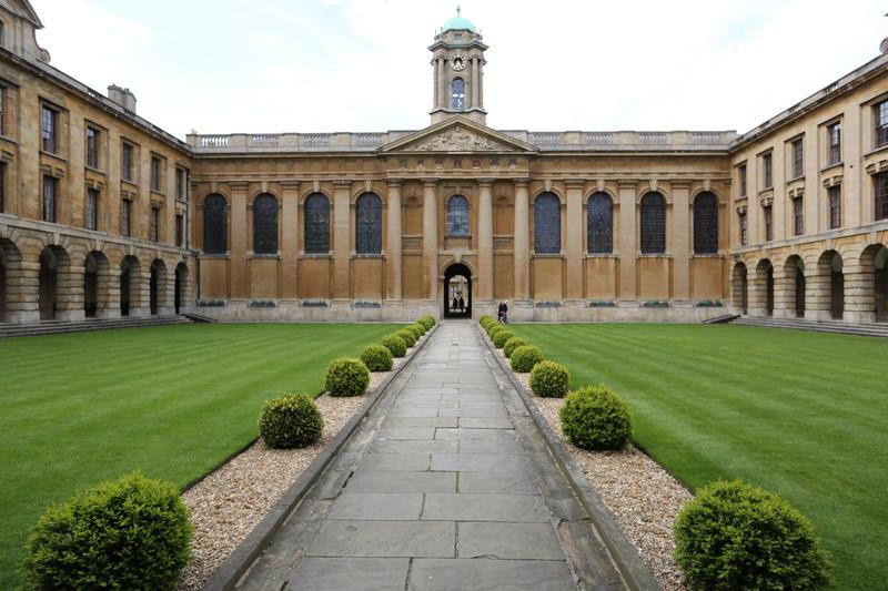 Queens College - Front Quad