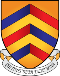 Merton College coat of arms