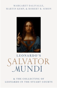 The cover of the book Leonardo's Salvator Mundi